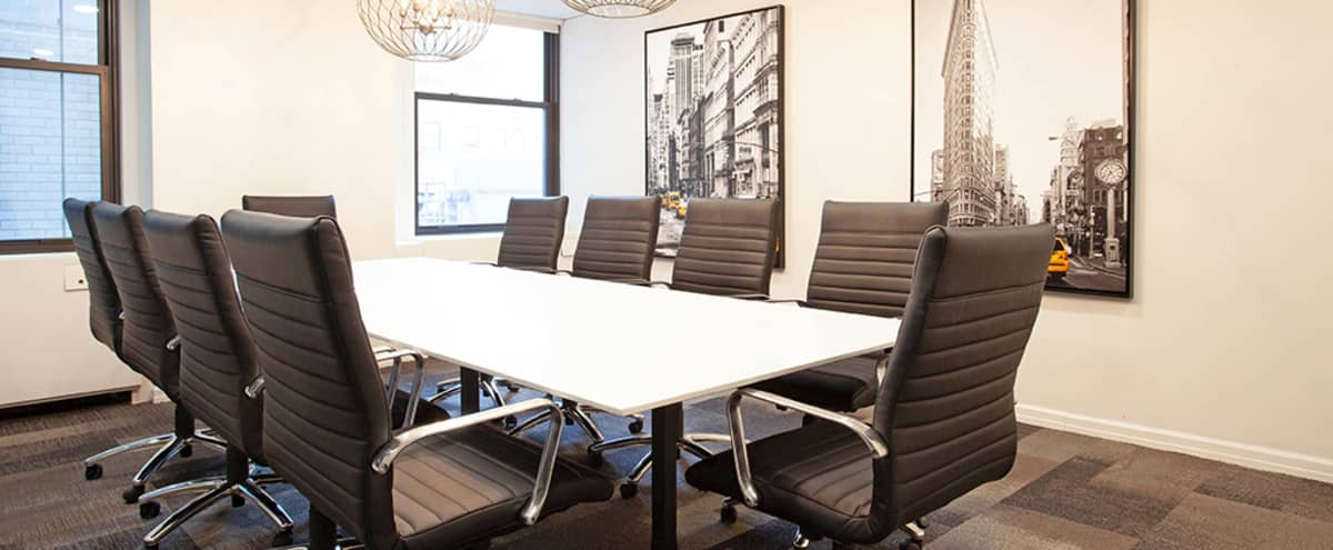 12 person Conference Room in Impressive Fifth Ave Historic Building (L) in New York Hero Image in Midtown, New York, NY