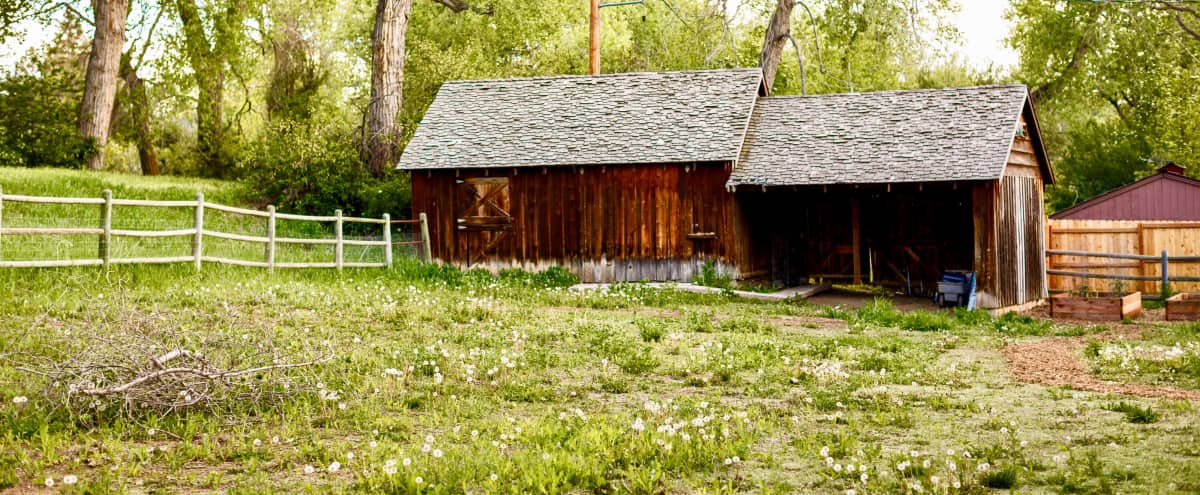 Private, Rustic Barn close to Denver in Greenwood Village Hero Image in undefined, Greenwood Village, CO