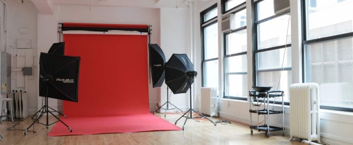 Affordable Natural Light Photo and Casting Studio in Midtown Manhattan in New York Hero Image in Midtown, New York, NY