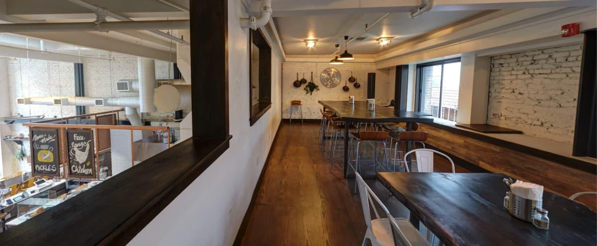 Mediterranean Upstairs Meeting Area w/Food & Tasting options in San Francisco Hero Image in Financial District, San Francisco, CA