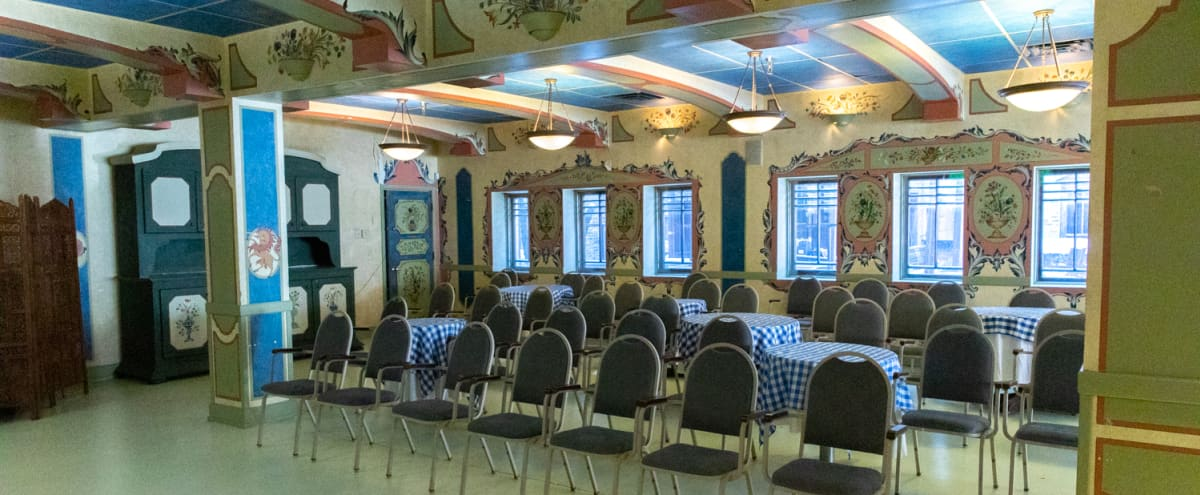 German Inspired Quaint Event Space in Minneapolis Hero Image in Whittier, Minneapolis, MN