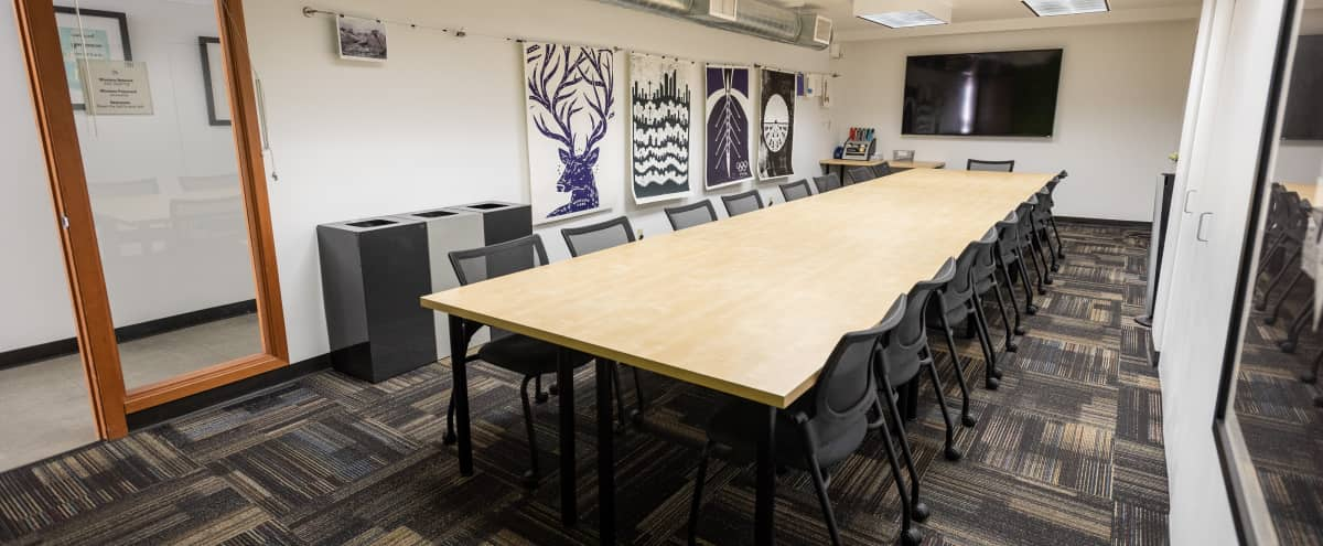 Affordable, Private Boardroom and Meeting Space for 20 in South Lake Union (Sherman) in Seattle Hero Image in Belltown, Seattle, WA