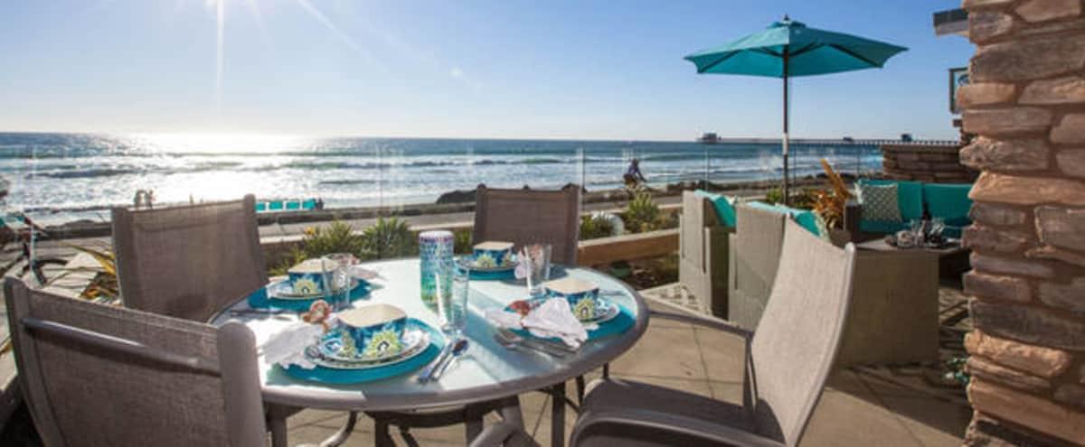 Oceanfront Modern Villa in Oceanside Hero Image in Townsite, Oceanside, CA