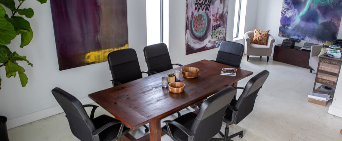 Meeting Room in West Midtown Production Studio in Atlanta Hero Image in Midtown, Atlanta, GA