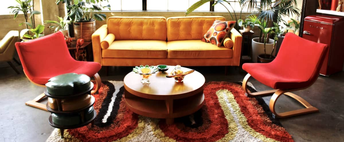 Downtown Retro Loft with Lots of Natural Light and 70s Vibe in Los Angeles Hero Image in Fashion District, Los Angeles, CA