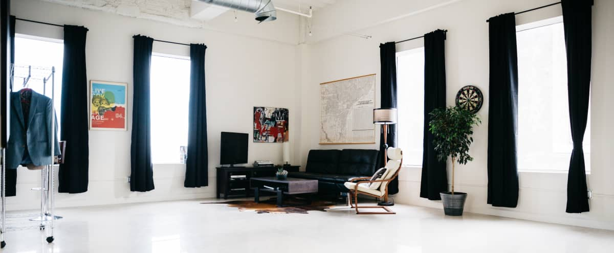 Spacious Sunlit Studio and Loft with High Ceilings in Los Angeles Hero Image in Central LA, Los Angeles, CA