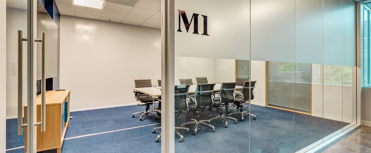 Modern High-Tech Meeting Room for 10 | M1 in Dallas Hero Image in Downtown, Dallas, TX