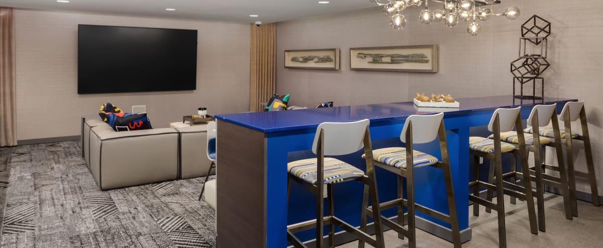 Modern Media Lounge in Redmond in Redmond Hero Image in Downtown, Redmond, WA