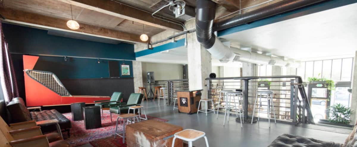 Modern, Industrial Semi-Private Mezzanine in Uptown Oakland in Oakland Hero Image in Downtown Oakland, Oakland, CA