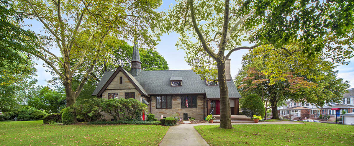 EXTERIOR Grounds of Private Church Estate in Brooklyn Hero Image in Dyker Heights, Brooklyn, NY