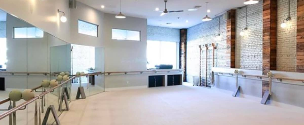 Fitness Studio with Industrial Vibe, Natural Light, Exposed Brick in Huntington Hero Image in undefined, Huntington, NY