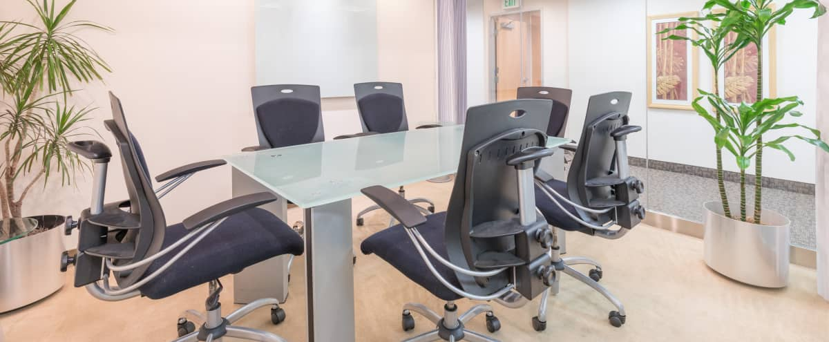 Sleek  Newport Beach Conference Room for 6 in Newport Beach Hero Image in Newport Center, Newport Beach, CA