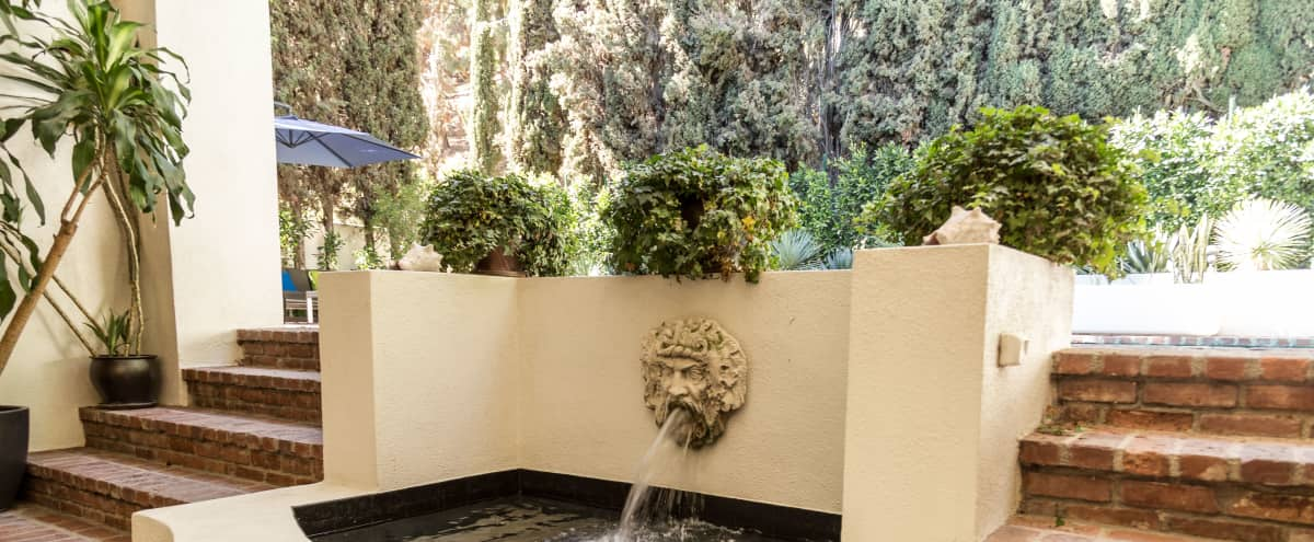 Production Friendly Hollywood Hills Villa - Private View Estate in Los Angeles Hero Image in Central LA, Los Angeles, CA