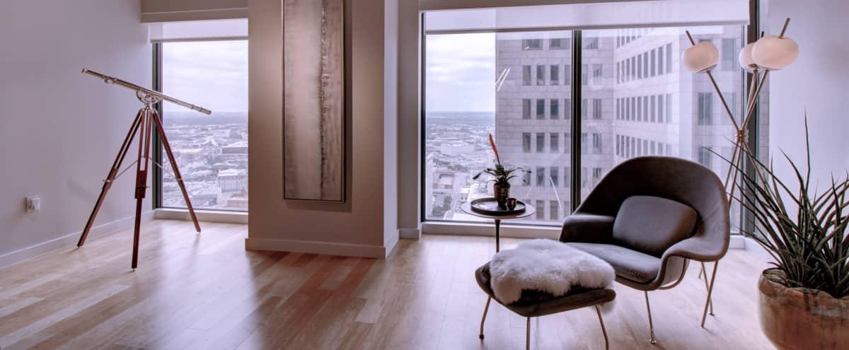 Downtown Studio with View in Dallas Hero Image in Dallas Downtown Historic District, Dallas, TX