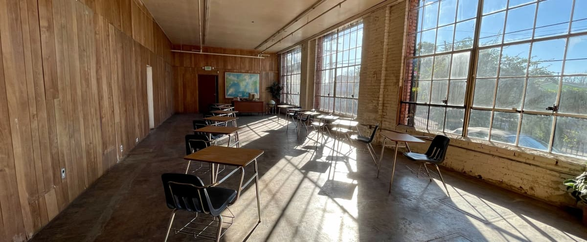 Retro Classroom Set in Los Angeles Hero Image in South Los Angeles, Los Angeles, CA