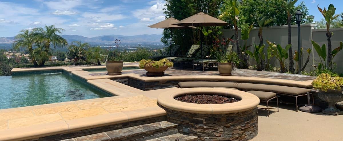 Spectacular Backyard with Infinity Pool in Tarzana Hero Image in Tarzana, Tarzana, CA