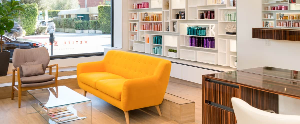 Spacious, Light Filled, Luxurious Salon in the Heart of West Hollywood in West Hollywood Hero Image in West Hollywood, West Hollywood, CA
