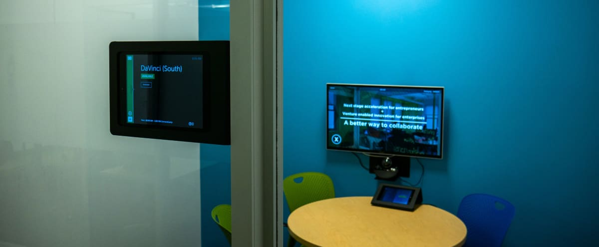 Physically Distanced and Safe! Productive Huddle Room with Zoom Rooms in Chicago Hero Image in Chicago Loop, Chicago, IL