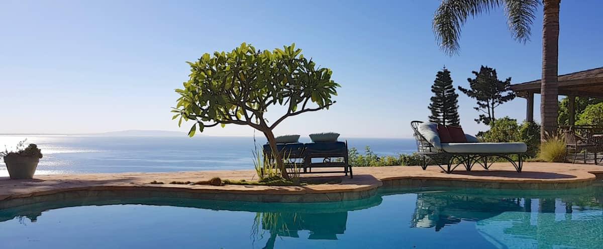 Bali Style Retreat with Unobstructed Ocean Views in Malibu Hero Image in Eastern Malibu, Malibu, CA