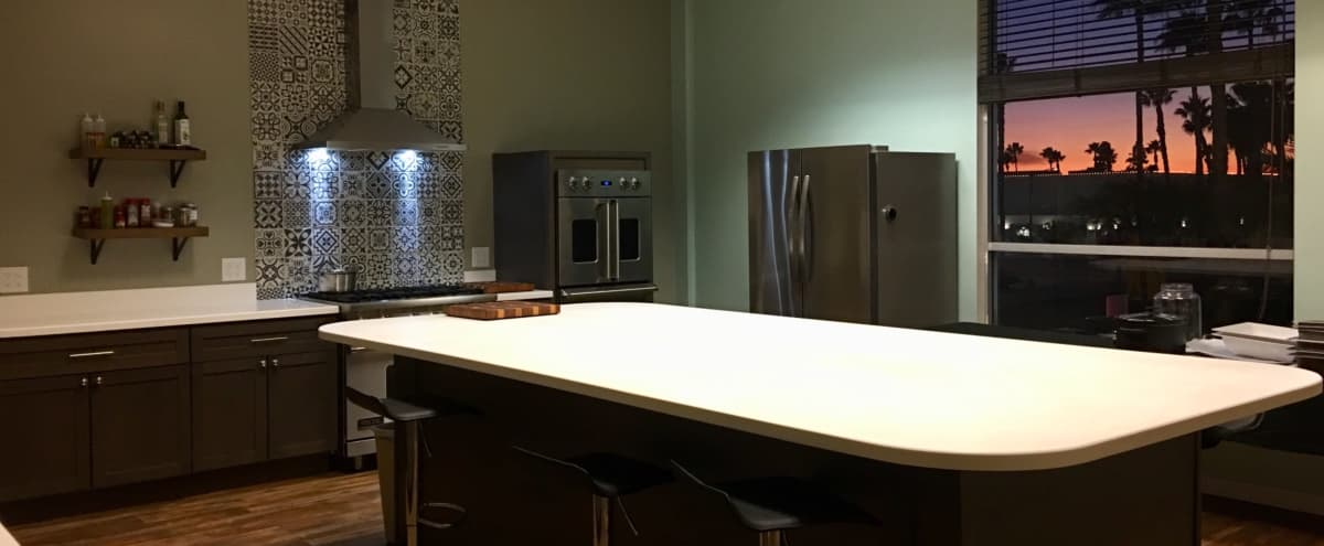 Urban Chef's Kitchen for Filming in Long Beach Hero Image in Los Altos, Long Beach, CA