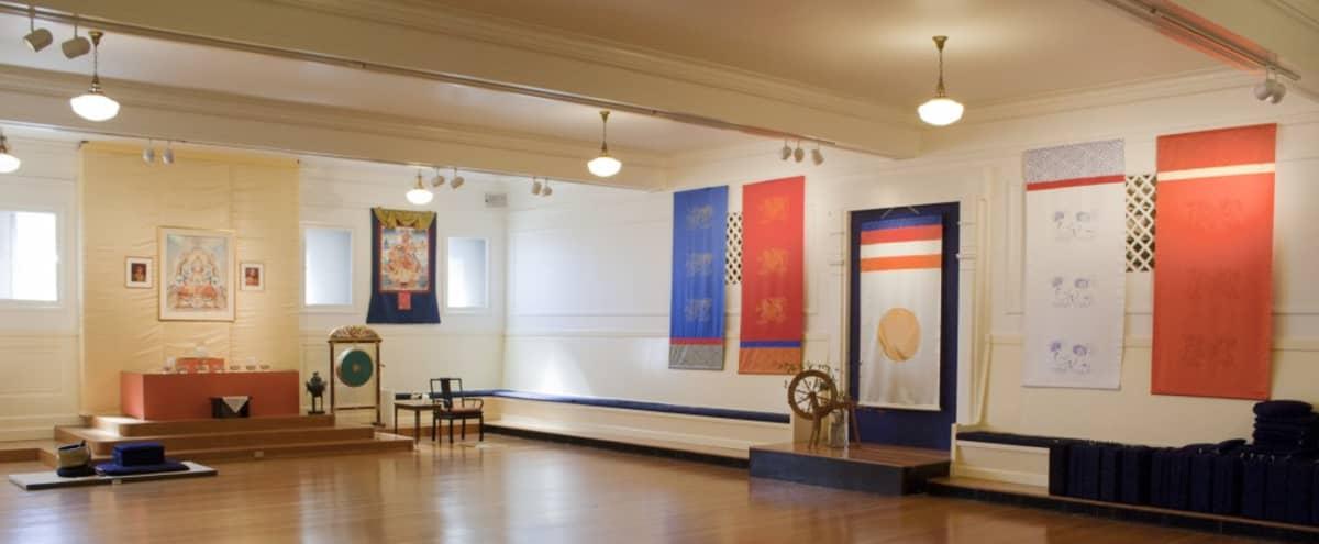 Spacious Meditation Hall with Private Meeting Rooms in Berkeley Hero Image in Downtown Berkeley, Berkeley, CA