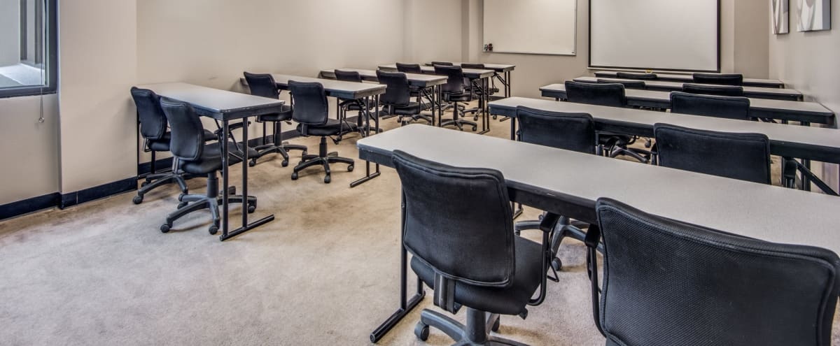 20 Person Training Room - Projector - Whiteboard in Irving Hero Image in Las Colinas, Irving, TX