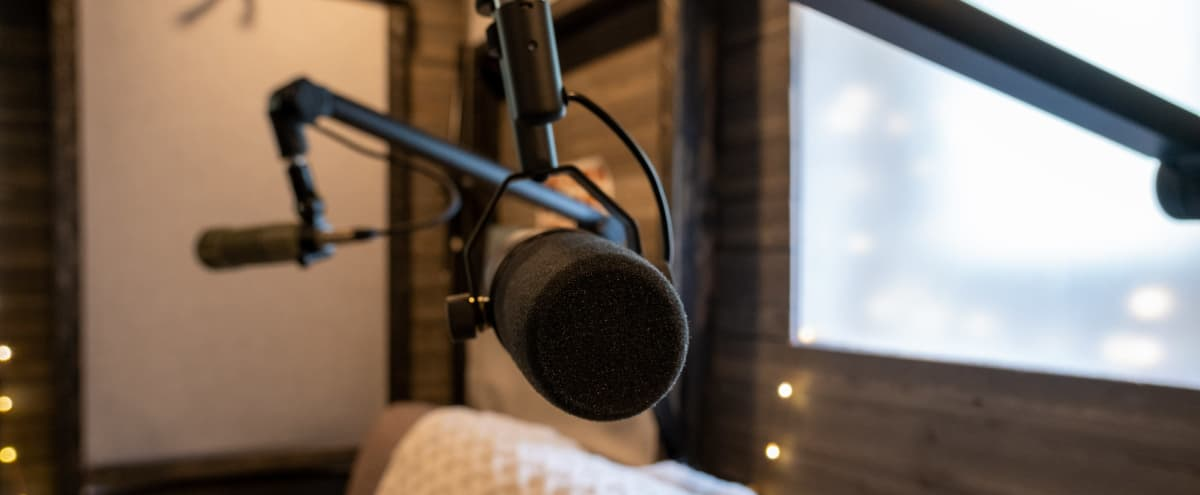 Vibey Podcast Recording Studio in Greenwood in Seattle Hero Image in Greenwood, Seattle, WA