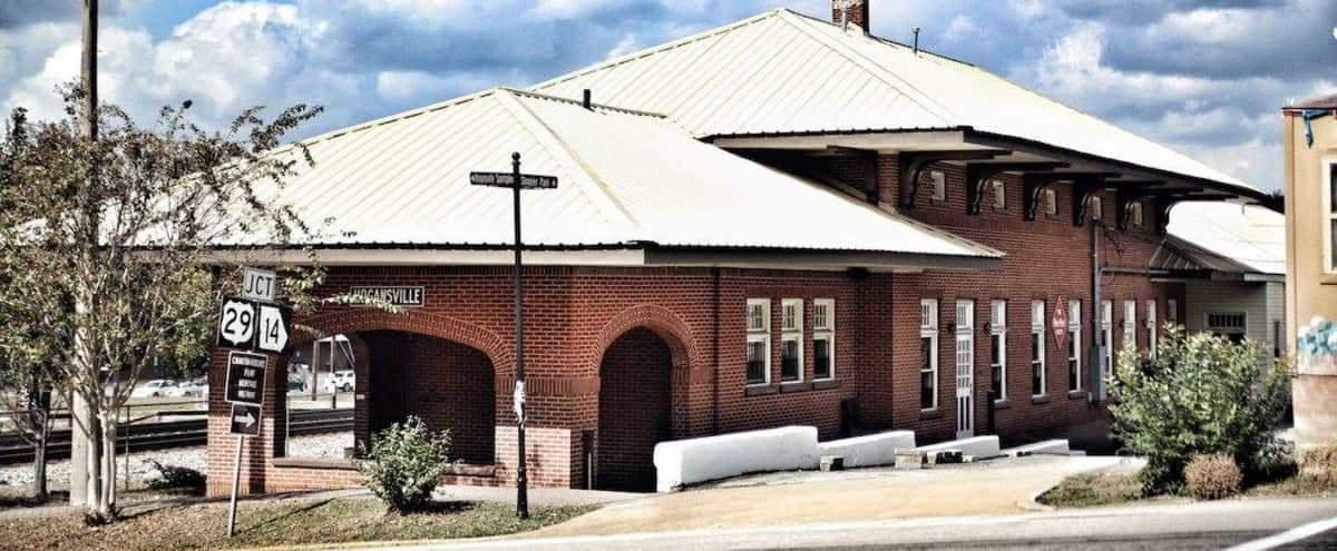 Historical Train Depot in Downtown in Hogansville Hero Image in undefined, Hogansville, GA