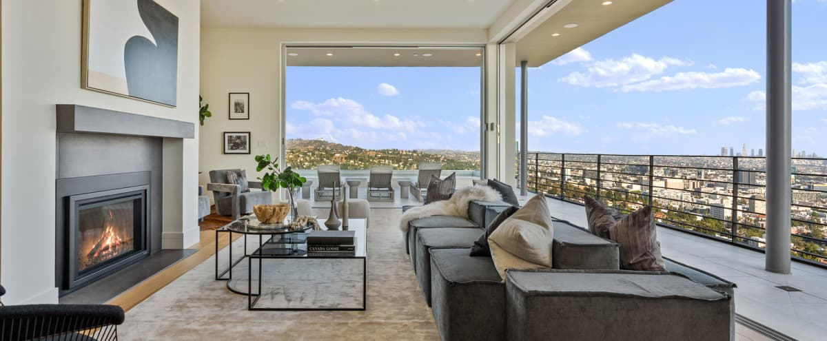 Hollywood Hills Home with Panoramic View in Los Angeles Hero Image in Central LA, Los Angeles, CA