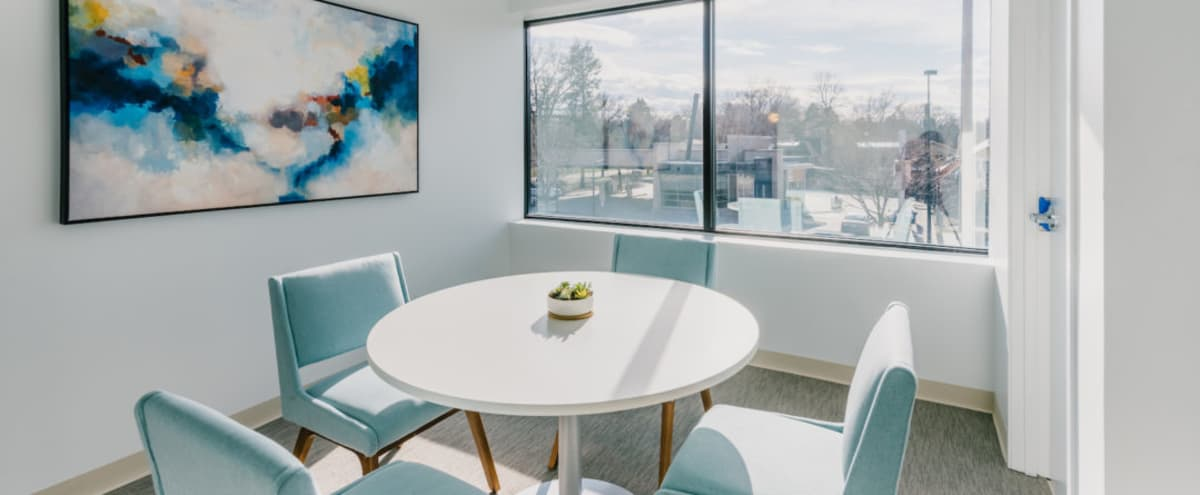 Huddle Room for Small Meetings | Consultations & Closings in Denver Hero Image in Hale, Denver, CO