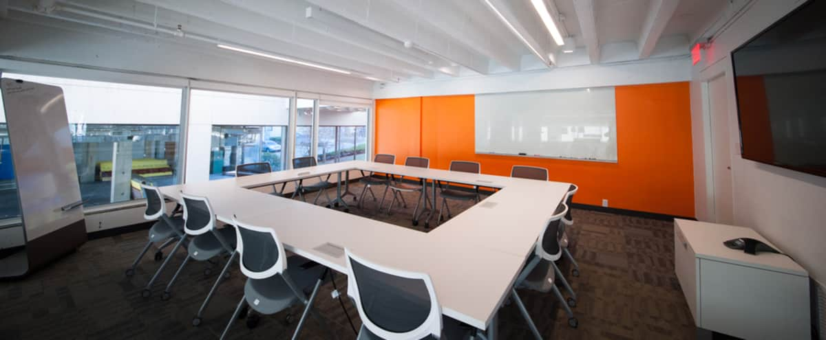Modern Loft Style Meeting Room in Central Square in Cambridge Hero Image in , Cambridge, MA