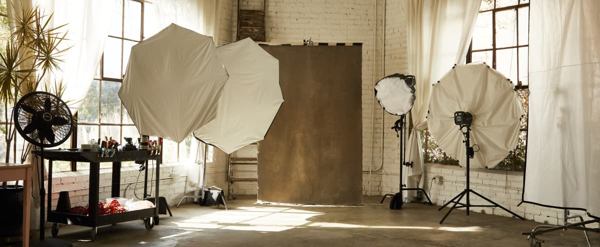 Downtown Industrial Photo Studio With Lots Of Character / Lighting, Backgounds, Props Included in Los Angeles Hero Image in South Los Angeles, Los Angeles, CA