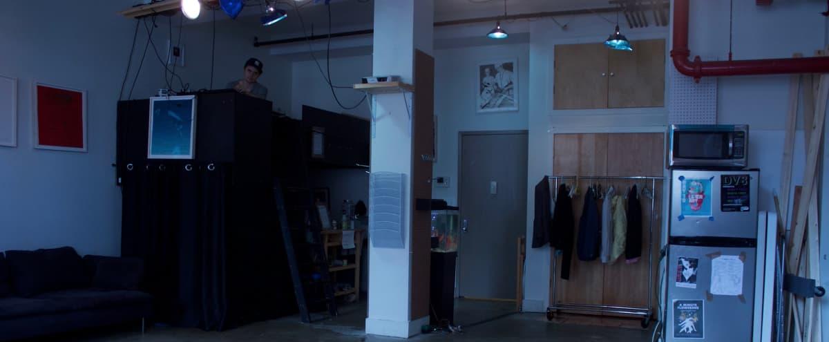 Industrial Multi-use Studio in E. Williamsburg in Brooklyn Hero Image in East Williamsburg, Brooklyn, NY