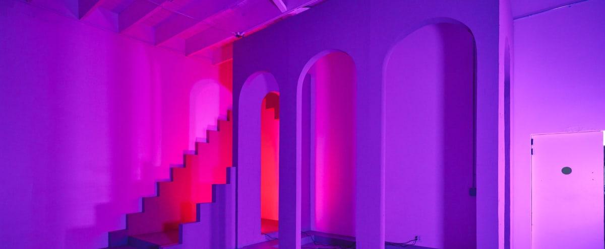 Structure Room Dreamscape w/Color Lighting Rental Option in Los Angeles Hero Image in Central LA, Los Angeles, CA