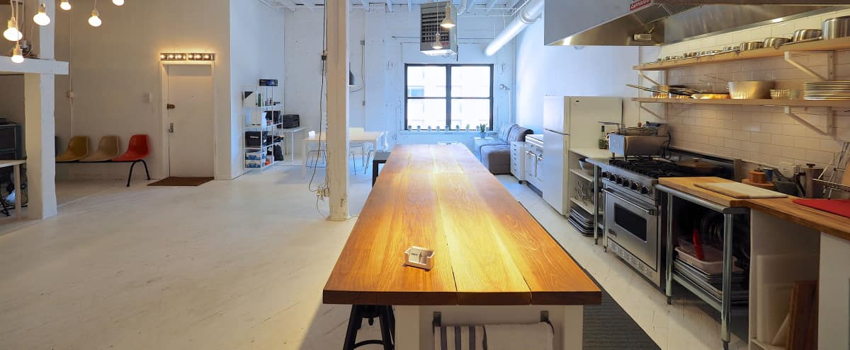 Large Williamsburg Loft Space in Brooklyn Hero Image in Williamsburg, Brooklyn, NY
