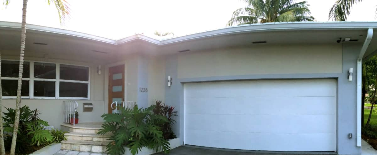 Spacious Mid Century Home With Pool and Furnished Patio in Residential Neighborhood in Miami Shores Hero Image in undefined, Miami Shores, FL