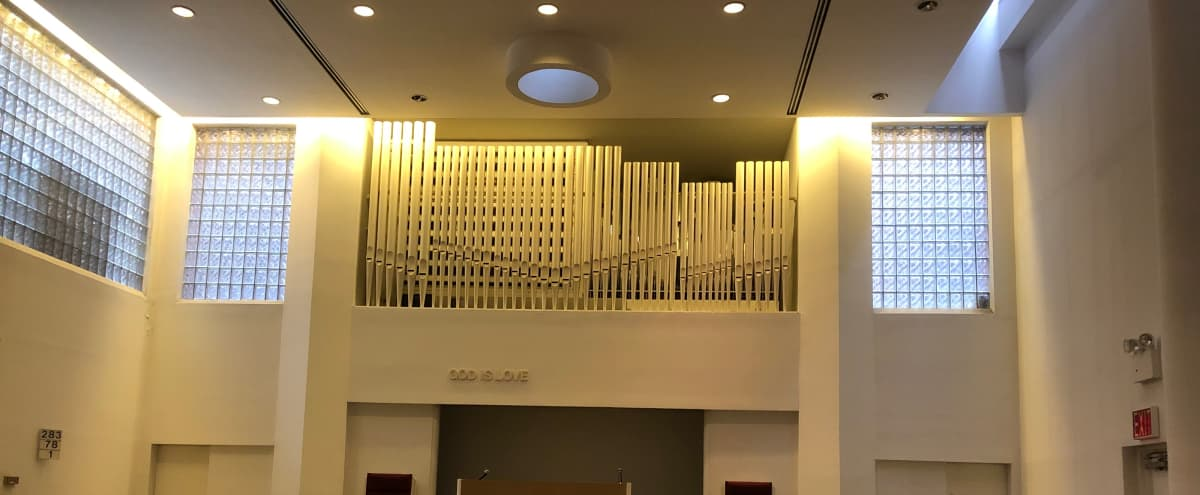Church space for lease in new york Hero Image in Morningside Heights, new york, NY