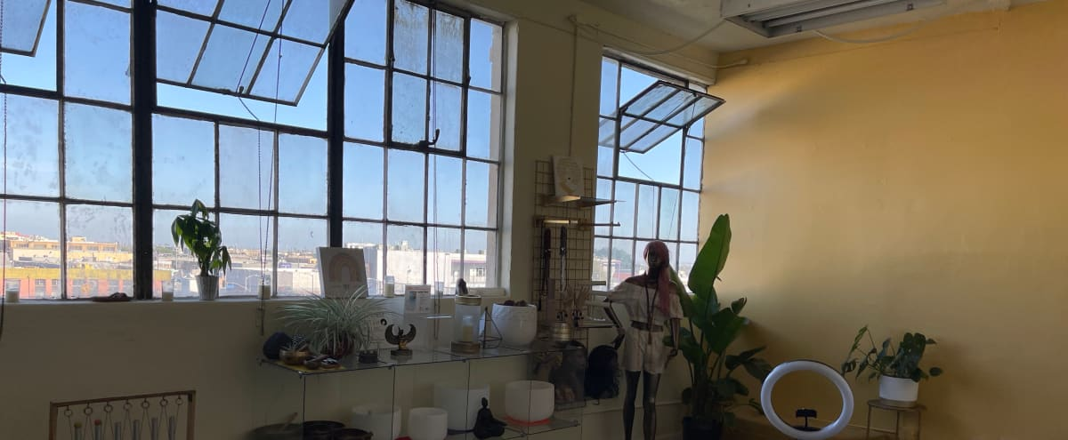 Downtown Loft with Large Windows in Los Angeles Hero Image in Central LA, Los Angeles, CA