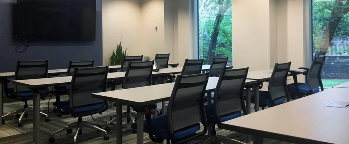 Spacious Dunwoody 16 Person Meeting, Training & Presentation Room in Dunwoody Hero Image in Perimeter Center, Dunwoody, GA