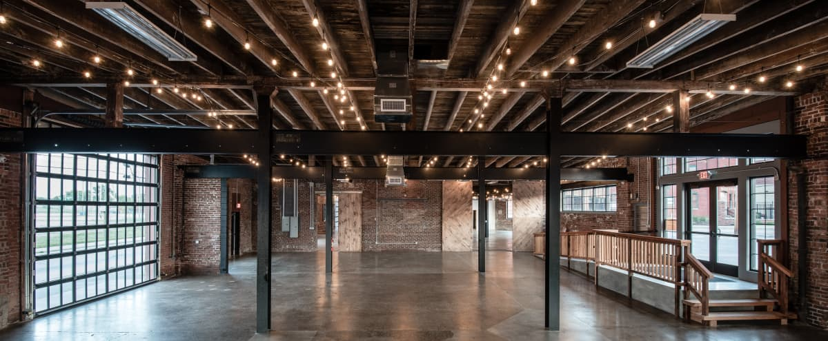 Industrial Historic Event Space in Indianapolis Hero Image in Old Southside, Indianapolis, IN