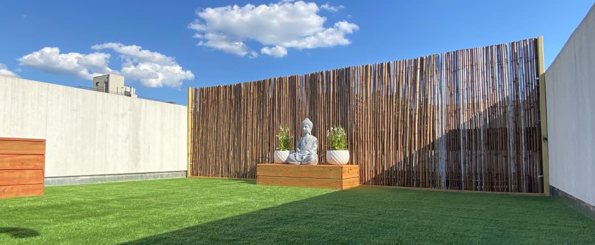 Zen Rooftop Garden - Yoga, Meditation, Photoshoots in Brooklyn Hero Image in Bedford-Stuyvesant, Brooklyn, NY