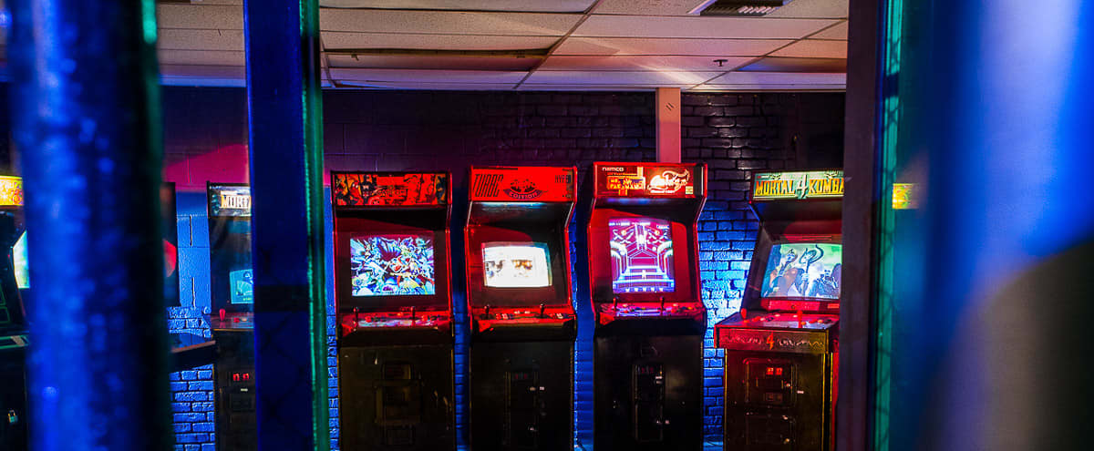 Arcade Room in Los Angeles Hero Image in Central LA, Los Angeles, CA
