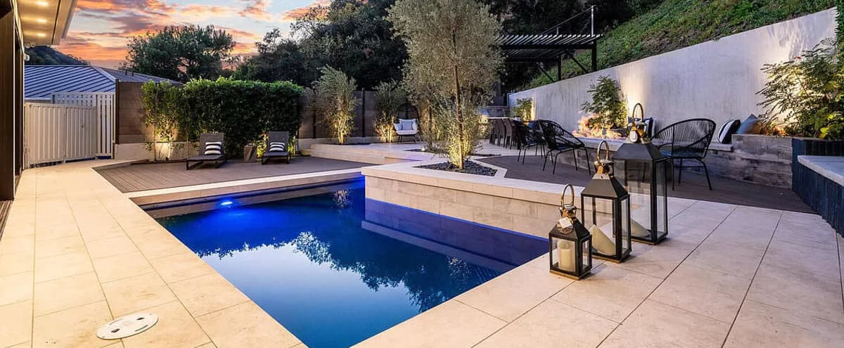Modern Luxurious Hollywood Hills Mansion in Los Angeles Hero Image in Central LA, Los Angeles, CA