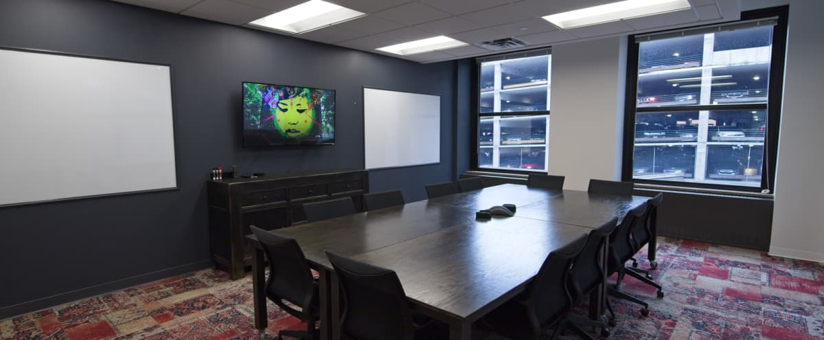 Stylish Downtown Conference Room - 12 People - MPLS in Minneapolis Hero Image in Downtown West, Minneapolis, MN