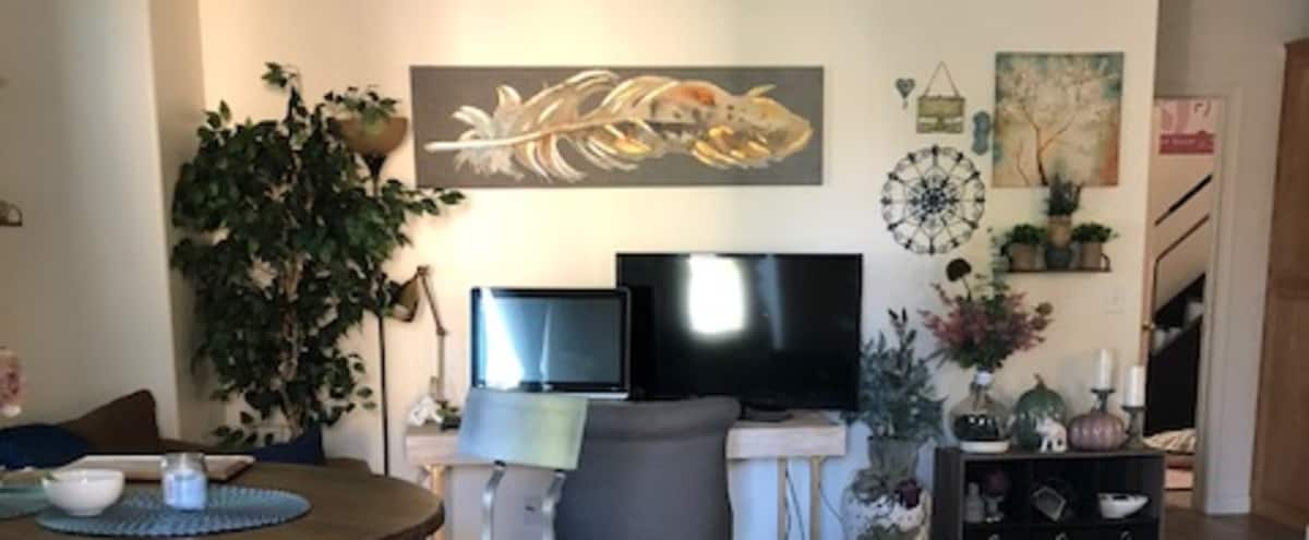 residential Condo turned into a business setting, meeting space, desks and open space, in Bakersfield Hero Image in Terra Vista, Bakersfield, CA
