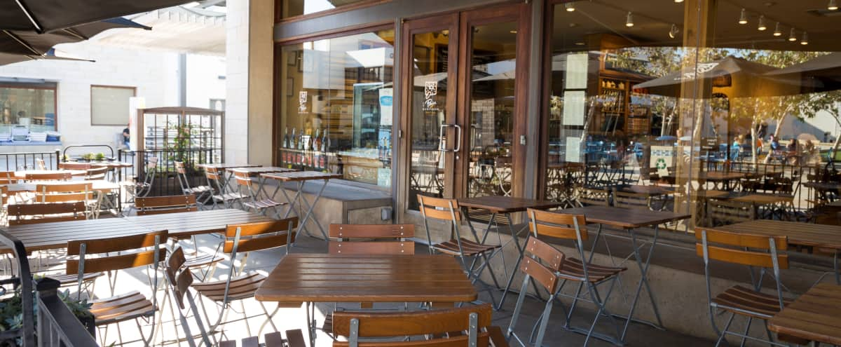 Rustic Beachside Cafe With Terrace in Manhattan Beach Hero Image in undefined, Manhattan Beach, CA