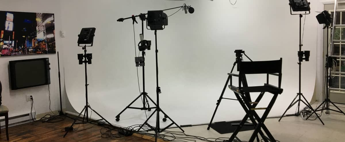 Great Photography/Videography Studio Space with 12' X 12' Cyclorama Wall in Yardley Hero Image in undefined, Yardley, PA