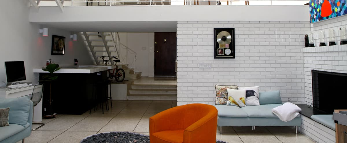 Retro Beverly Hills Multi-level House in Los Angeles Hero Image in Norma Triangle, Los Angeles, CA