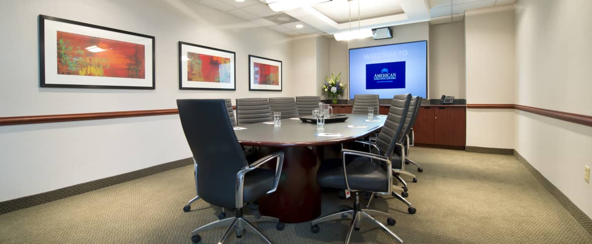 Suburban Executive Boardroom with the latest Technology in Plymouth Meeting Hero Image in undefined, Plymouth Meeting, PA