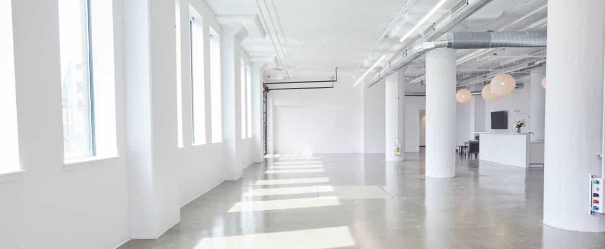 Stunning All White - Natural Light - Industrial Studio in Philadelphia Hero Image in Center City, Philadelphia, PA